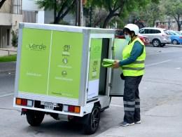 delivery en autos eléctricos