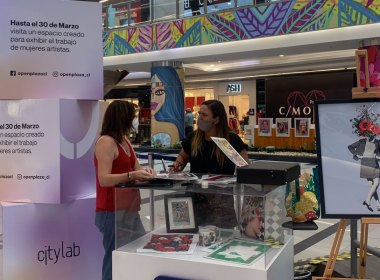 Hecho x Mujeres en Mall Open Plaza Kennedy
