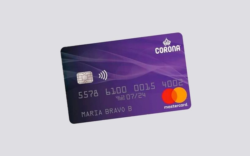 Tarjeta Corona Mastercard