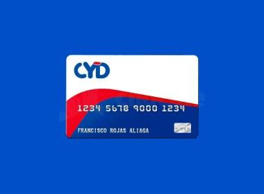 Tarjeta de crédito CYD