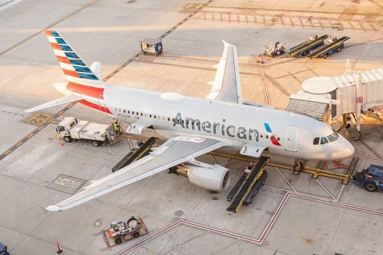American Airlines Santiago-New York