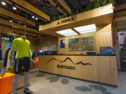 La nueva tienda de deportes outdoor Adidas Terrex en Chile