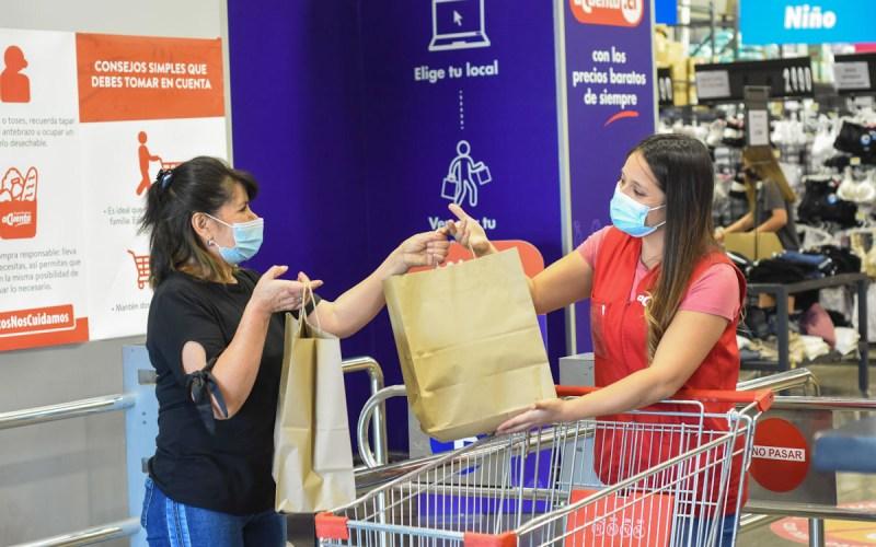 El proceso de compra de supermercado en Acuenta.cl