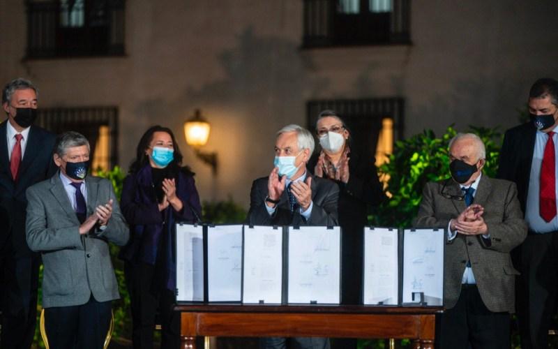Piñera anunció un IFE Universal y un Bono de Alivio para la Pyme