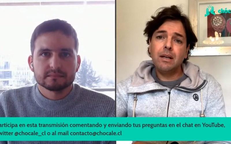 Rafael Lubascher, gerente de Innovación de Transbank, conversó con Max Valdés, editor de Chócale.
