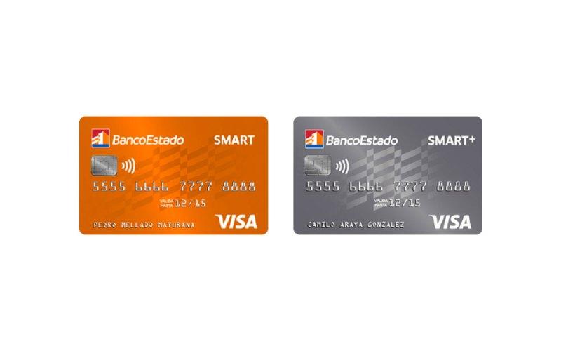 Tarjetas de crédito SMART y SMART+ de JetSMART y BancoEstado