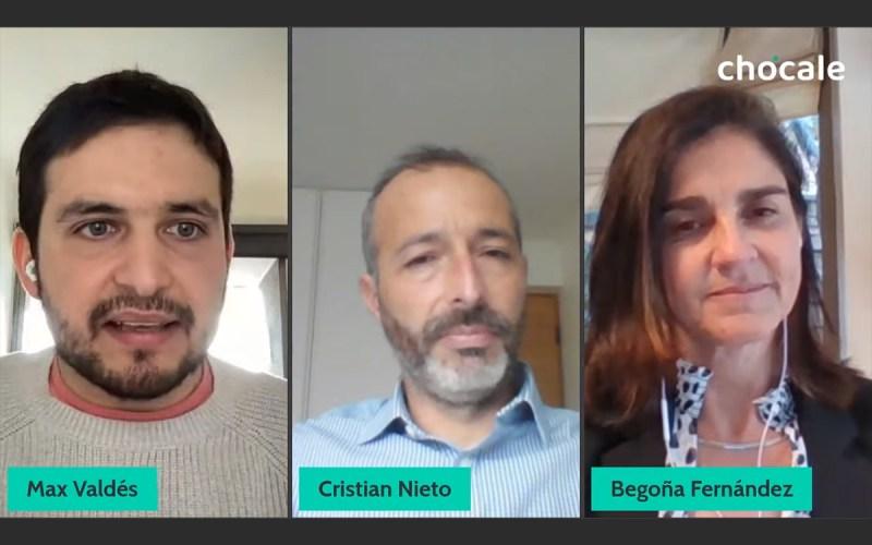 Begoña Fernández y Cristián Nieto de Lider Bci Servicios Financieros