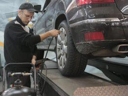 reparación de auto