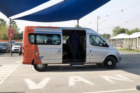 El estacionamiento custodia Ezypark ofrece traslados cada 10 minutos al aeropuerto (Foto: Chócale)