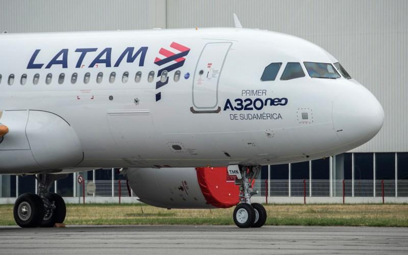 A320neo de LATAM Airlines