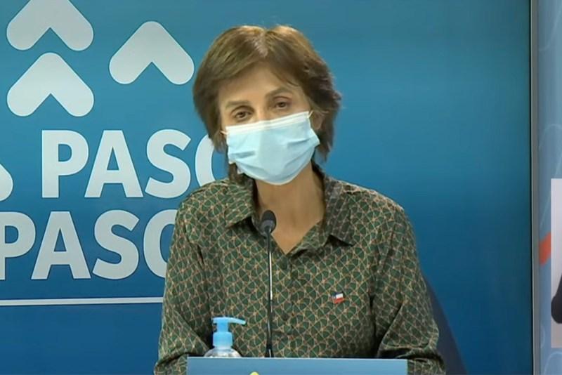 Paula Daza informó las comunas que avanzan a Fase 4