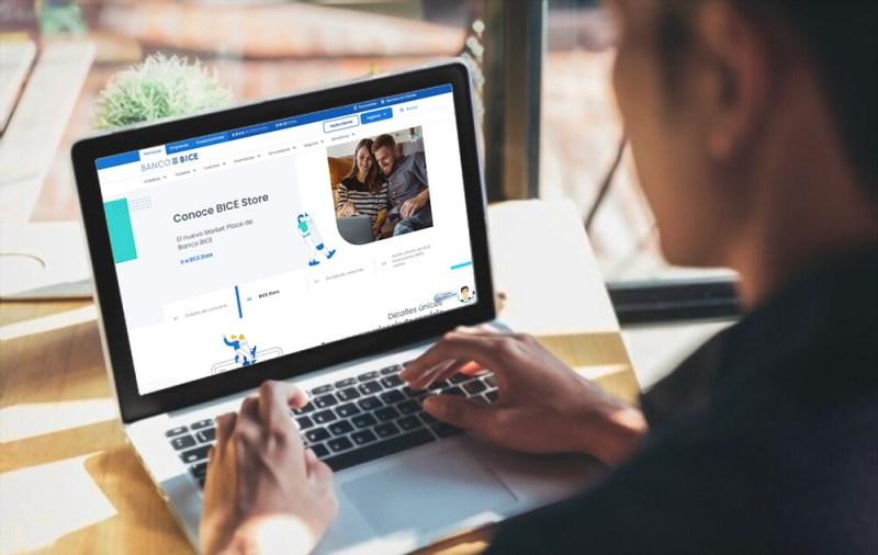 Nuevo sitio web de Banco BICE
