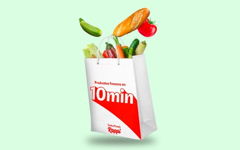 Rappi Turbo Fresh ofrece delivery en 10 minutos en Chile