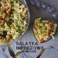 Salatka imprezowa z kurczakiem z rozna