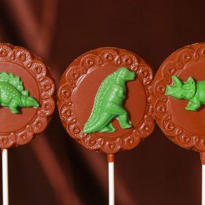 Dinosaurs Lollipops
