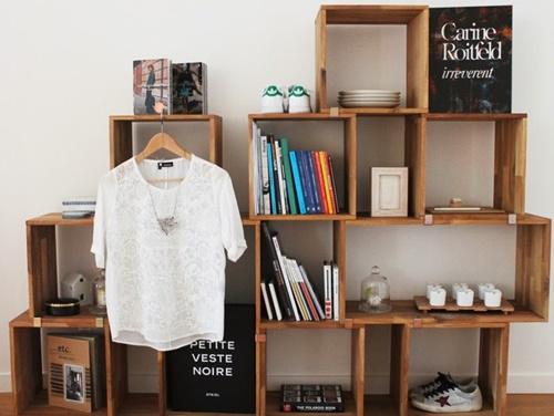 Unique Shelves - Box Book Case