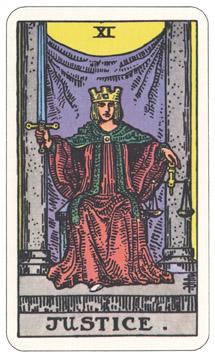 正義 タロットカード