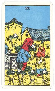 カップ6,タロットカード