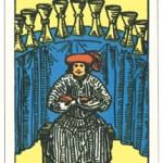 カップ9,タロットカード