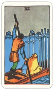 ソード6,タロットカード
