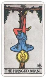 吊られた男,タロットカード
