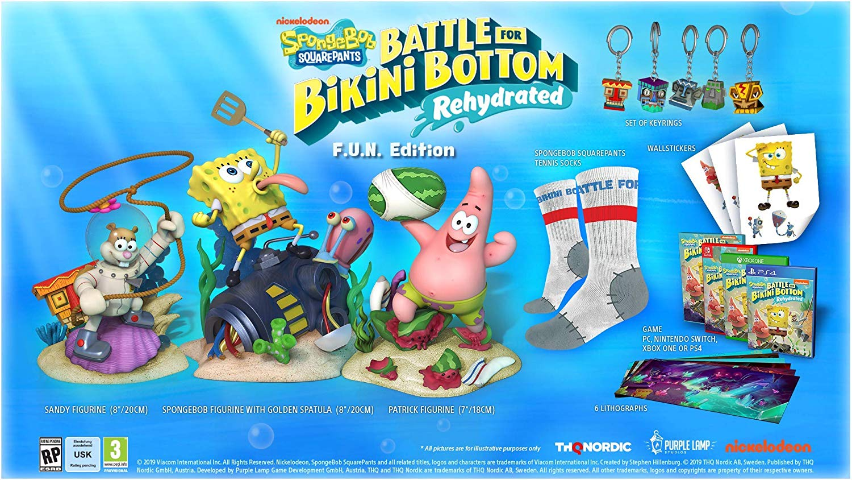 SpongeBob Squarepants FUN Edition Switch | ChocoBonPlan.com