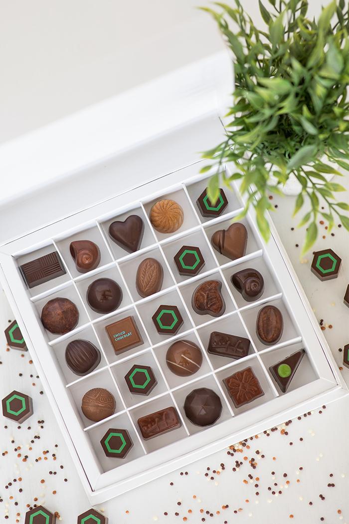 Cadeaux corpo - Desjardins - Choco Chocolat