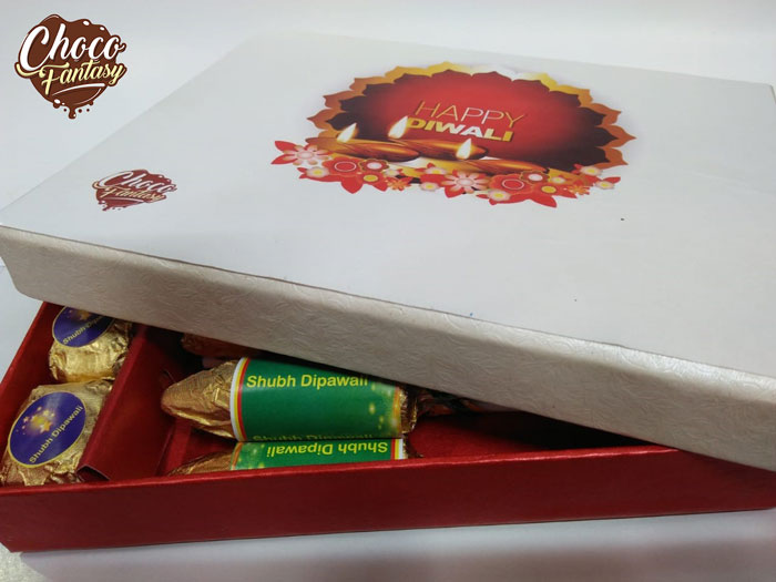 Cracker Shaped Chocolate Gift Box for Diwali