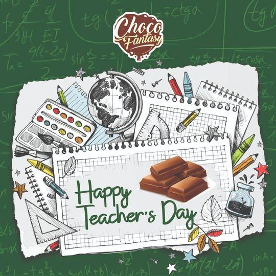 Happy Teachers day from Choco fantasy, Homemade gifts for teachers day