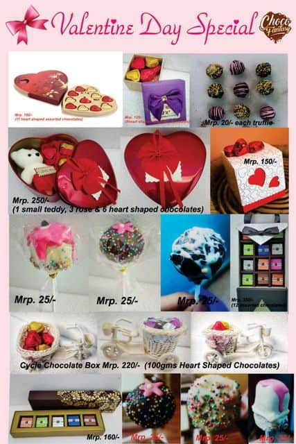 Valentines Day Chocolate Gift Boxes in Kolkata