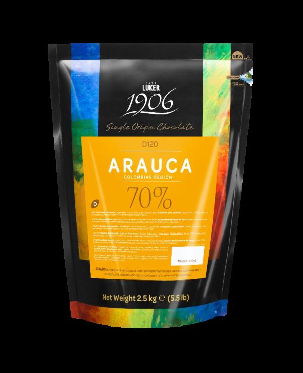 Chocolade - Donker - Arauca 70% (2,5kg)