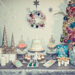 christmas sweet table, montreal sweet table