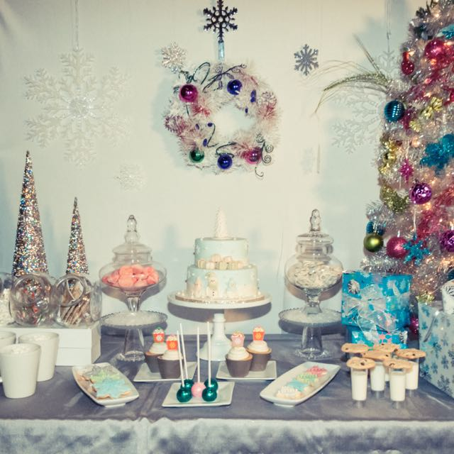 Fun for the little ones – Christmas Dessert Table