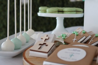 mint green and white sweet table - 06