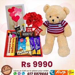 Chocolate Gift Box 1 Chocolate Lk
