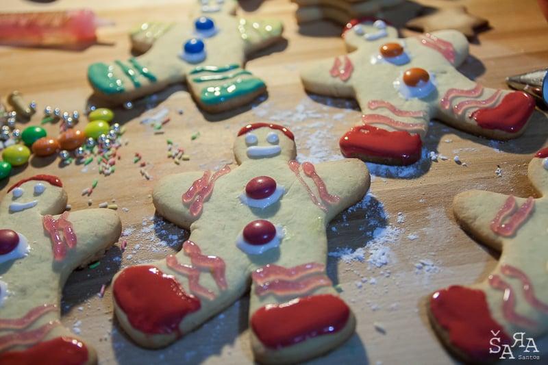 Bolachas de Natal Decoradas
