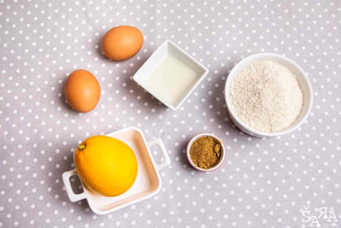 Ingredientes para muffins