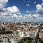 View of Berlin from viewing platform