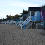 Different view of the Beach Huts