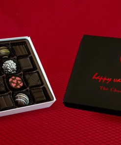 an all dark chocolate large chocolate assortment box