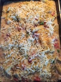 Chicken Supreme Pasta Bake.