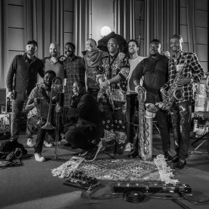 Femi Kuti musical performance with Coldplay on Arabesque