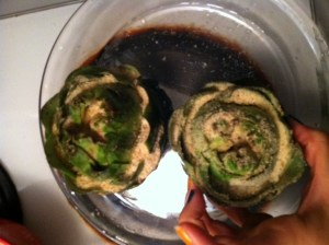 Okey Dokey Artichokey. Stuffed artichokes are the shiz!