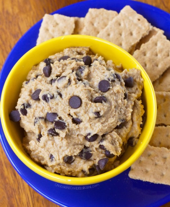 High Protein Chickpea Cookie Dough Dip
