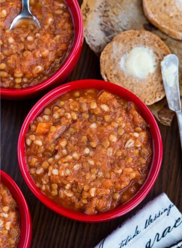 Lentil Soup Recipe (High Protein)