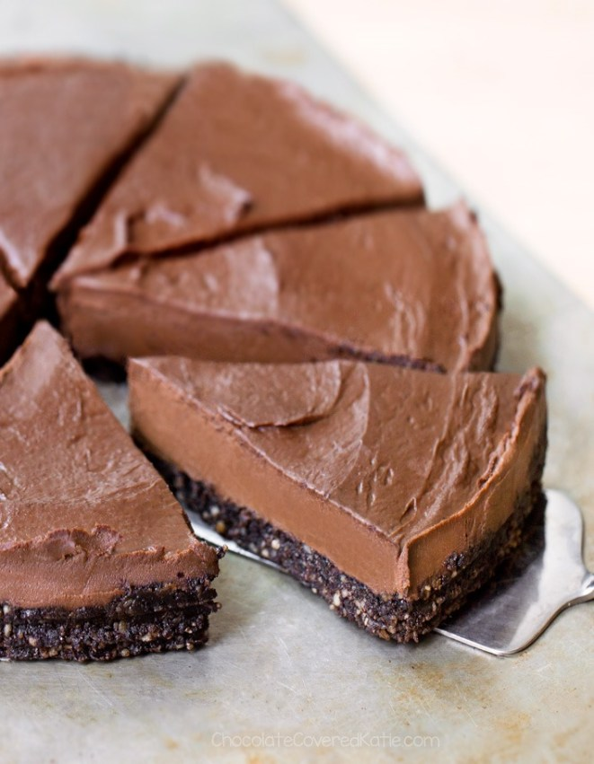 Creamy Healthy Chocolate Avocado Pie Recipe