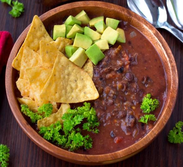 The Best Black Bean Soup (Homemade)
