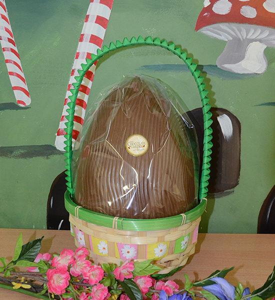 Large Easter Basket 11 kg Egg  The Chocolate Garden of