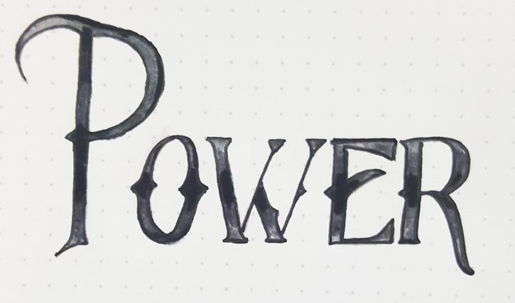 Power Word Art