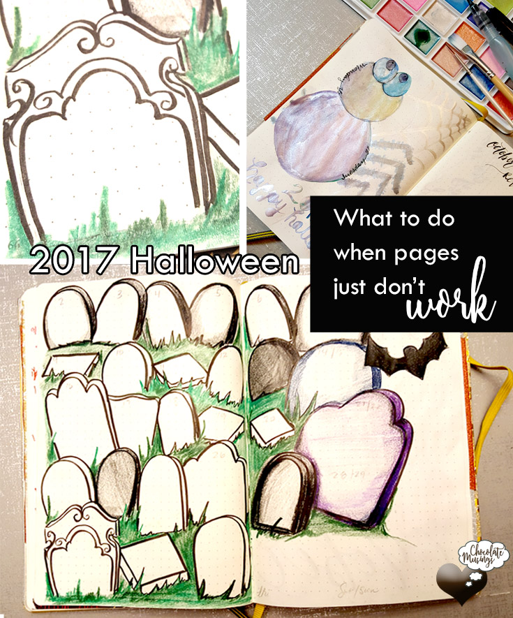 What to do when pages don't work - Bullet Journal Fails, advice & Ideas